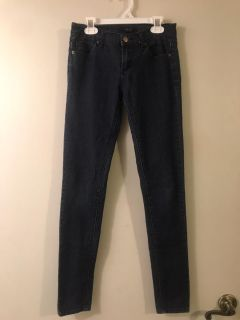 Forever 21 Juniors Dark Skinny Jeans with Stretch Size 3 Super Excellent Condition $4.00