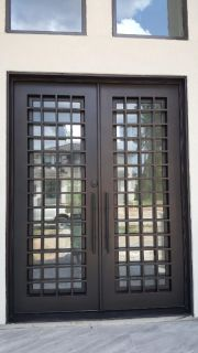 Square Iron Door