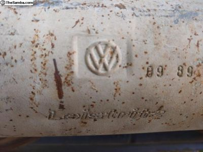 15-1600 German bus muffler