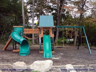 Professional Playset and Swing Set installation