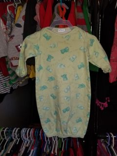 0-3 month. Pjs. Lots of other boys and girls clothes available