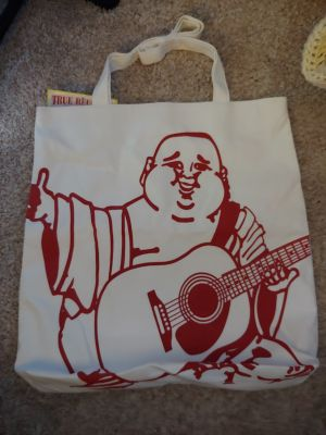 NWT True Religion Buddha canvas tote