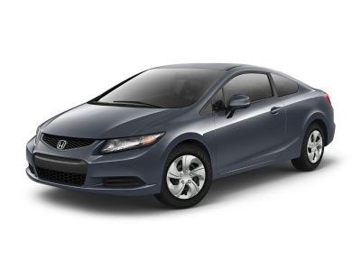 2013 Honda Civic LX (Alabaster Silver Metallic)