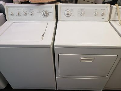 Estate Washer and gas dryer set