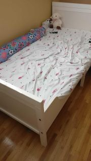 Expandable crib to toddler bed
