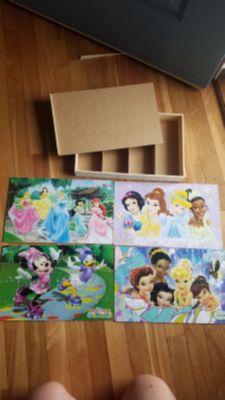 Disney puzzle set