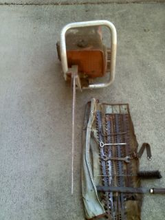 Very Rare -- Wright Saw -- Reciprocating Power Saw -- With 4 Spare Blades