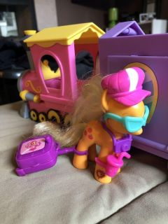 My Little Pony Train and Accessories