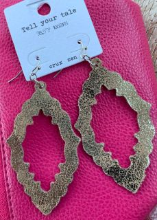 New with tags gold earrings