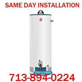 $399 WATER HEATER and INSTALL