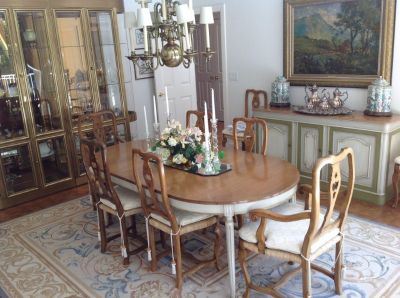 ELEGANT SINCERELY YOURS ESTATE SALE: MUSEUM PAINTINGS, SCULPTURE, FURNITURE, DECOR, LOUIS VUITTON ++