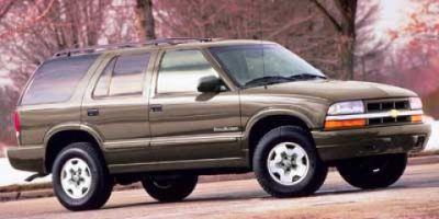 2000 Chevrolet Blazer Base (Summit White)