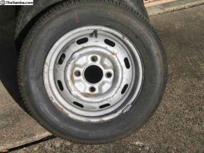 '68 and later wheels rims Beetle Ghia no shipping