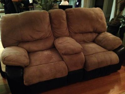 Microfiber LoveSeat and Sofa