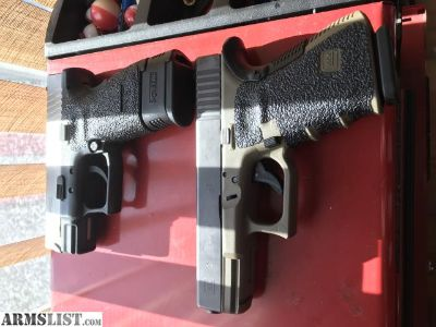 For Sale: Custom Glock 23 And Custom Springfield XD Subcompact With Killer Upgrades!!