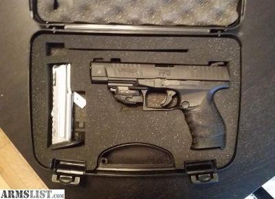 For Sale: Walther PPQ .22lr Crimson Trace laser