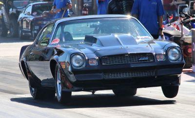 81 Z28 Camaro, Grudge, No Prep, Heads Up