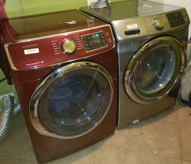 Like New Samsung Front Load Washer and Dryer
