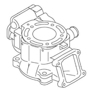 Sell Kawasaki Cylinder Assy 2002-2005 KX85 02-05 KX 85 OEM motorcycle in Maumee, Ohio, US, for US $310.99