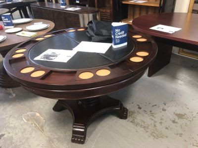 50.7 McBride Dining-Game Poker Table