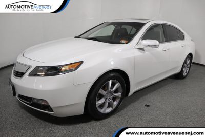 2013 Acura TL Base (Bellanova White Pearl)