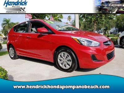 2017 Hyundai Accent GS (Boston Red Metallic)