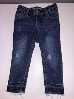 12/24 months distressed jeans