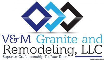 Granite Countertops by V&M Granite
