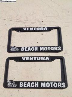 Ventura License Plate Frames