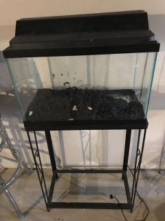 10 gallon tank and stand