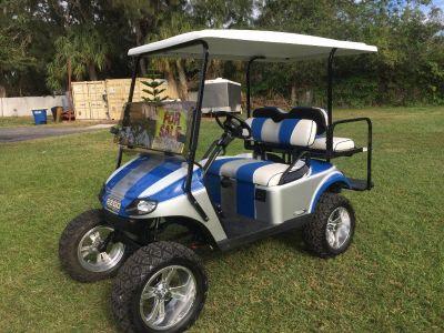 CUSTOM ~ 2014 EZGO TXT Golf Cart