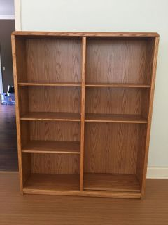 Pacific Tombour Inc solid wood book shelf