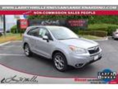 Used 2015 Subaru Forester Ice Silver Metallic, 40.7K miles