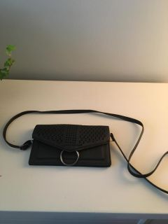 Small clutch with strap
