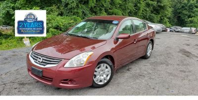 2010 Nissan Altima 2.5 (Red)