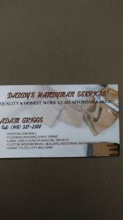 Home remodeming & Handyman services