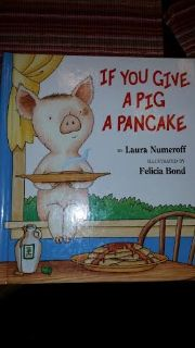 (New) If You Give A Pig A Pancake Children's Book