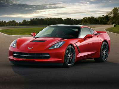 2018 Chevrolet Corvette Stingray (Long Beach Red Metallic Tintcoat)