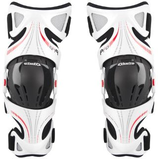 Find NEW ALPINESTARS FLUID PRO KNEE BRACE SET MX DIRT BIKE PROTECTION WHITE ALL SIZES motorcycle in Chino, California, US, for US $399.95