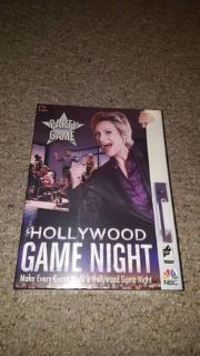 Hollywood Game Night Party Board Game New