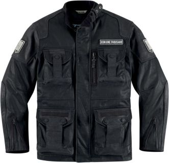 Purchase Icon One Thousand Beltway Resin Black Canvas Jacket 2013 Motorcycle 1000 motorcycle in Ashton, Illinois, US, for US $600.00