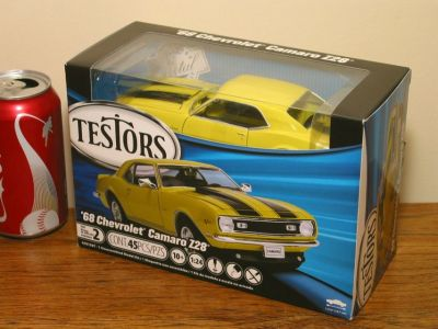 Testors 1968 Chevy Camaro Diecast Metal Model Kit 1:24 Scale