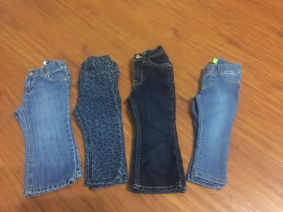 Jeggings and jeans