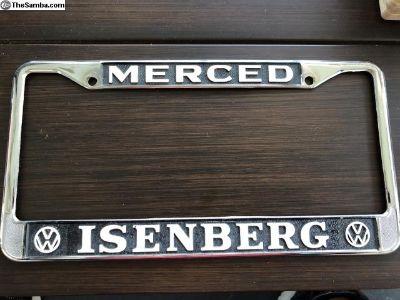VW Isenberg, Merced California Dealership Frame