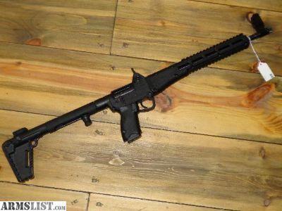 For Sale: Kel Tec Sub 2000 Rifle 9mm Glock