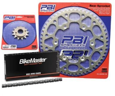 Purchase PBI XR 14-45 Chain/Sprocket Kit for Kawasaki EX 500 1987-1993 motorcycle in Hinckley, Ohio, United States, for US $116.03