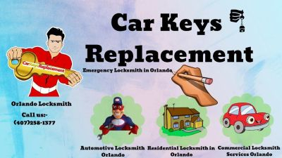Orlando Locksmith Best Services | Car keys Replacement