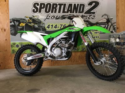 2017 Kawasaki KX450F Motocross Motorcycles Oak Creek, WI