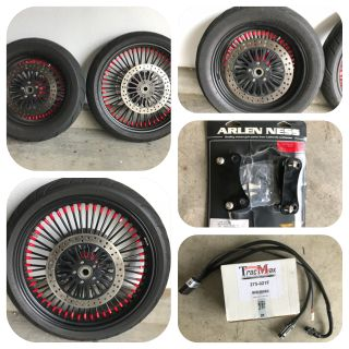 DNA Phat Daddy 50 Spoke Wheel Package for Harley Rushmore Touring