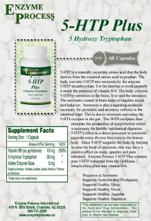 5-HTP Plus - Improves Appetite, Digestion, Mood & Sleep